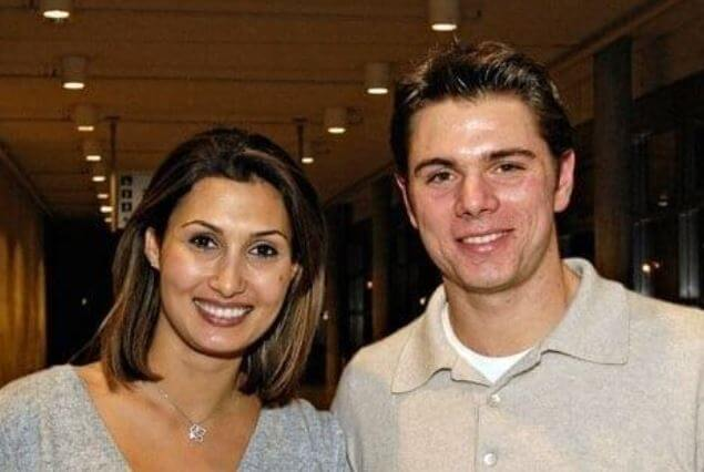 Ilham Vuilloud with her ex-husband, Stan Wawrinka.